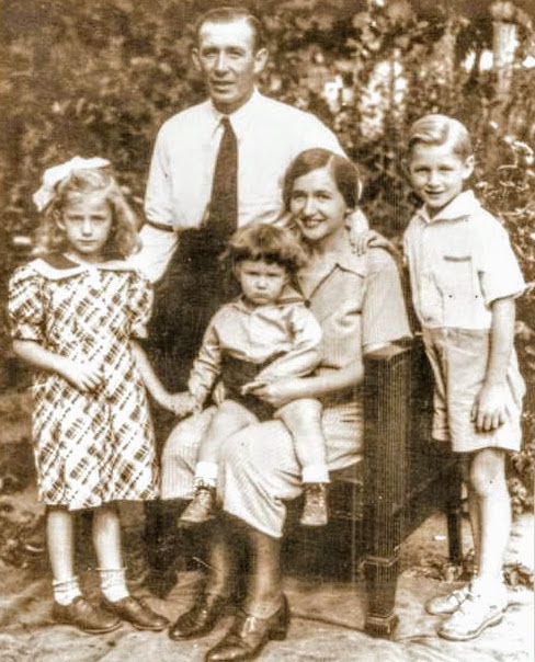 Ernest and Charlotte Kading's Family John Kading Henry Kading Helen Kading Russell Doland