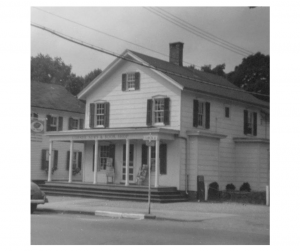 The Corner News Store on Franklin Avenue in Millbrook, New York in the early years of the ownership of John Kading
