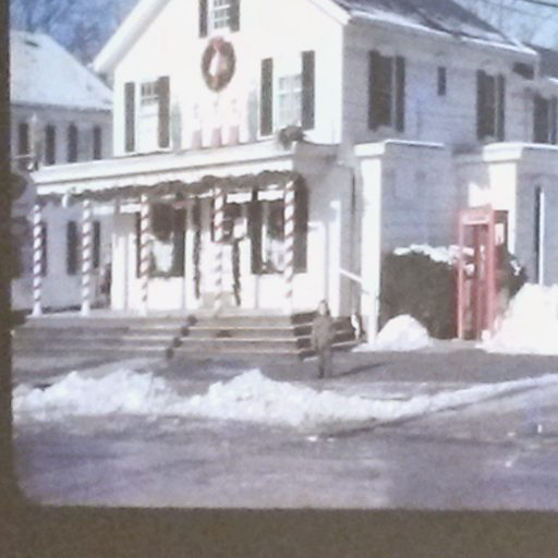 The Corner News Store in Millbrook, New York at Christmas
