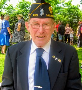 John Kading of Millbrook, New York and had been actively involved with the Millbrook Post of the VFW until it ended and moved to Pleasant Valley, New York