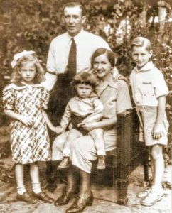 Ernest and Charlotte Kading's Family- John, Helen and Henry Kading of Millbrook, New York
