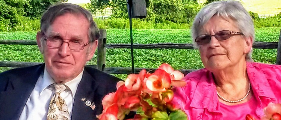 John and Marilyn Kading taken August 1, 2015 at Charlotte's in Millbrook, New York