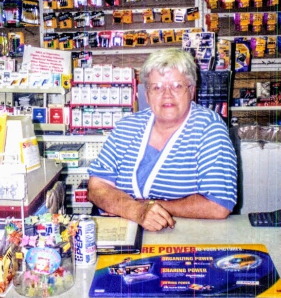 Marilyn Kading at The Corner News Store in Millbrook, New York