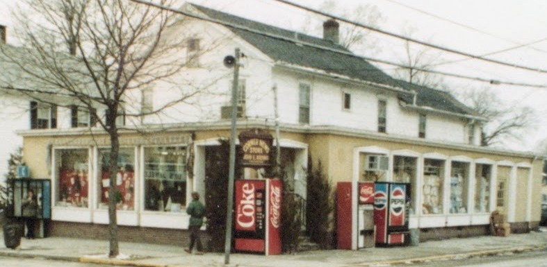 Corner News Store in Millbrook, New York