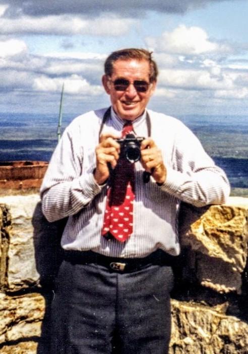 John Kading of Millbrook, New York with his camera