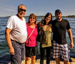Gerry and Diane Schoessow's Family in Portland, Maine in September 2017