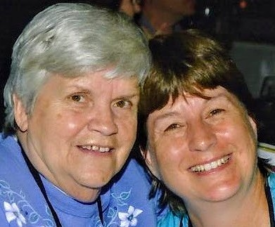 Mother and Daughter- Marilyn Kading and Diane Kading Schoessow creator of Millbrook Memories