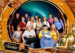 Kading's Family Alaskan Cruise in August 2009