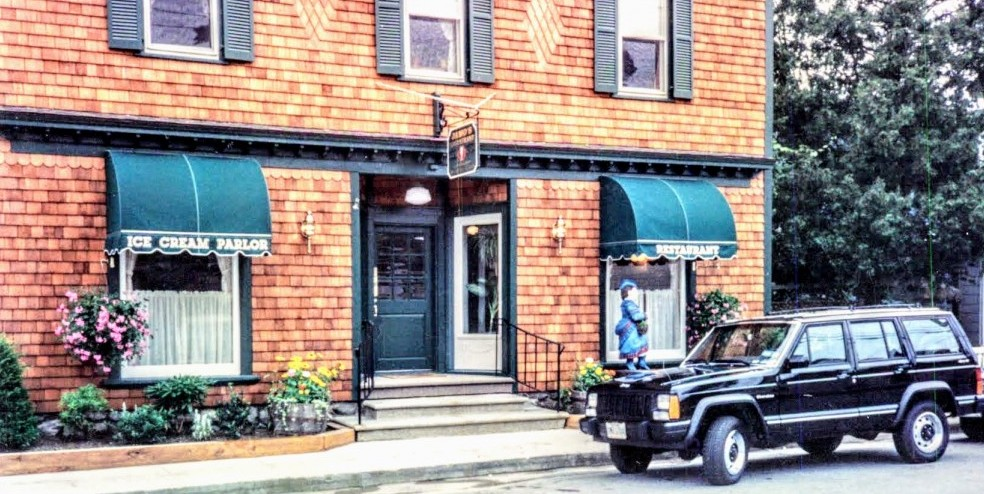 Cafe Les Baux on Church Street in Millbrook, New York