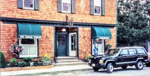 Jamo's Ice Cream on Church Street in Millbrook, New York, which is now Cafe Les Baux!